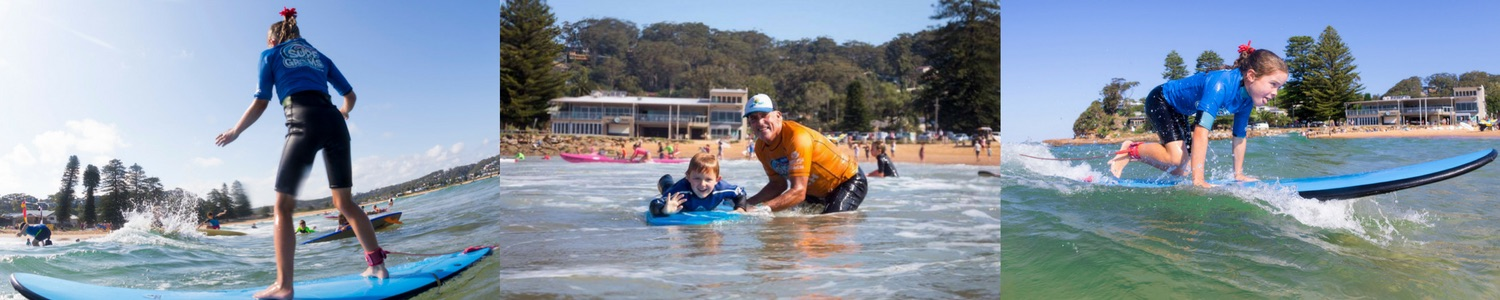 Avoca and Terrigal Learn to Surf - Home